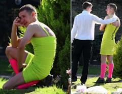 CURIOSIDADE: Ele chegou de vestido no velório do amigo, e o motivo vai te emocionar