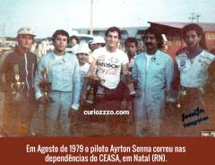 LUTO: Morre Hélio Paiva, comerciante que ajudou a trazer Ayrton Senna a Natal