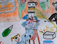 MUNDO: Desenho de criança mostra terror da sua família cristã torturada em Alepo