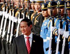 Em Mianmar militares tomam o poder em Mianmar e presidente é preso