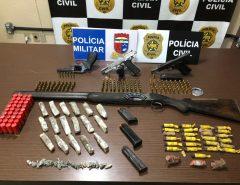 """Polícia Civil deflagra 13ª fase da Operação """"Parabellum"""" e prende sete pessoas em Macaíba"""