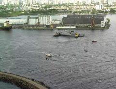 Veleiro com 1,5 tonelada de cocaína chega ao Recife