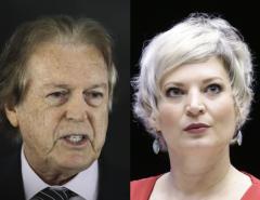 """Presidente do PSL pede para tirar Joice Hasselman do grupo de zap do partido: """"Ou ela ou eu"""""""
