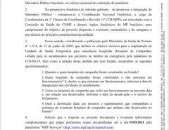 BOMBA: PGR intima os governadores a prestar contas de gestão na pandemia