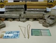 ENTORPECENTES: Polícia Civil apreende 30kg de droga em porta-malas de carro na Zona Oeste de Natal (RN)