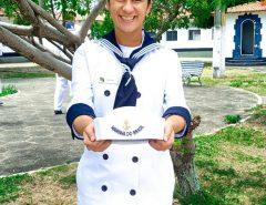 Macaíba: Conheçam Heloísa, a jovem Macaibense que passou em 2º lugar para Cabo da Marinha