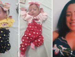 Tragédia:  Jovem dá à luz gêmeas, contrai coronavírus  e morre sem conhecer as filhas