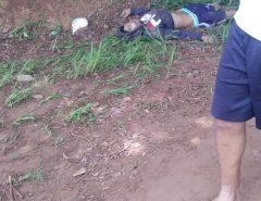 ATENÇÃO IMAGENS FORTES: Três bandidos são atropelados e mortos durante uma tentativa de assalto no interior do RN