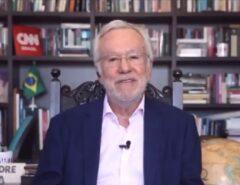 O BICHO PEGOU: Ao vivo, Alexandre Garcia ameaça deixar a CNN Brasil; confira o momento  Fonte: Portal Grande Ponto
