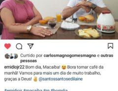 Ex-gari da TCL faz comentário em Post do Prefeito Emídio e viraliza nas redes sociais