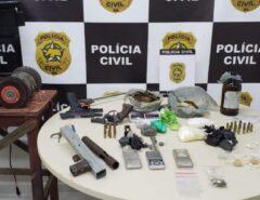 Polícia Civil localiza fábrica clandestina de armas de fogo em Natal e prende dois homens