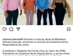 """DESORIENTADO: Vice-governador, Antenor Roberto """"matou"""" quem está vivo"""