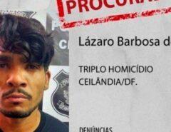 SÓ NO BRASIL: Defesa de Lázaro Barbosa pede proteção especial em caso de prisão