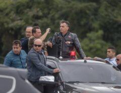 """Presidente Jair Bolsonaro: """"Não vão ser um ou dois ministros do STF que decidirão o destino da nação"""""""