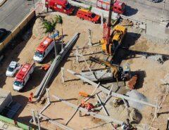 TRAGÉDIA: Homem morre após estrutura de obra desabar em Ponta Negra