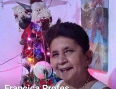 Macaíba amanheceu de luto com a triste notícia da morte da professora Francisca