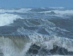 AVISO DE MAU TEMPO: Marinha emite alerta de ventos de até 60 Km/h e ondas de até 4m de altura no litoral do RN