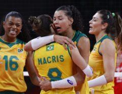 DESTAQUE INTERNACINAL: Brasil atropela Coreia do Sul na semifinal e disputa ouro olímpico em Tóquio contra os EUA