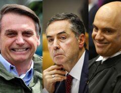 Bolsonaro reafirma que pedirá impeachment de Moraes e Barroso