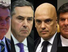 """SUPREMO """"Repudia ato de Bolsonaro"""" e manifesta """"total confiança"""" em Moraes"""