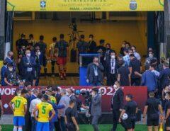 Fique Ligado: Após interrupção da Anvisa, jogo entre Brasil e Argentina é suspenso