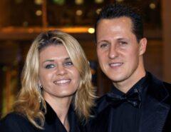 Esposa de Schumacher quebra silêncio e fala sobre condição de heptacampeão